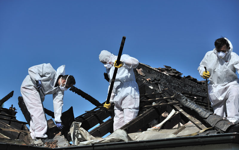 fire damage repair Riverside, California