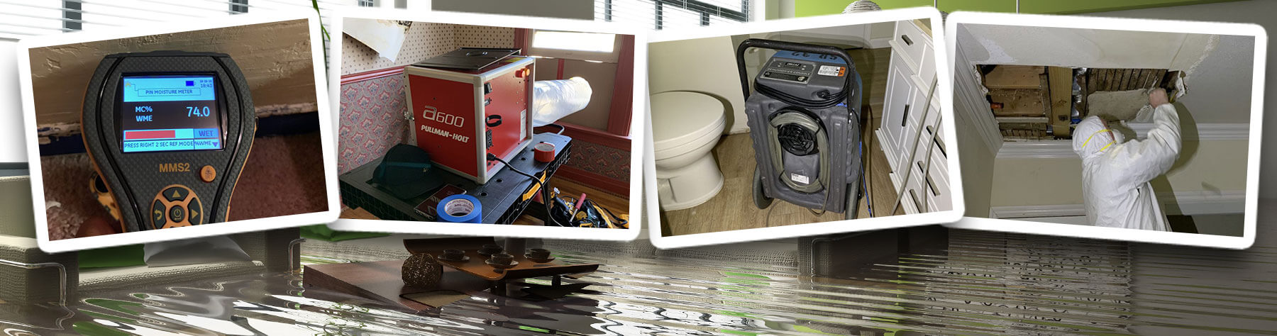water damage services Riverside, California